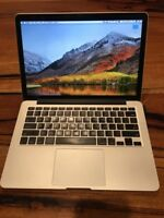 "2015 MacBook Pro 13"" Retina I5 2.9GHz i7 3.1GHz 16GB 512GB 1TB SSD Warranty"