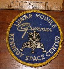 VINTAGE NASA PATCH - GRUMMAN LUNAR MODULE KENNEDY SPACE CENTER
