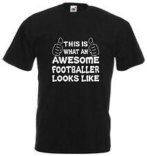 Sorprendente Jugador de Fútbol Camiseta para Hombre Regalo Navidad Día Cool