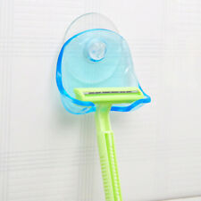 1Pcs Wall Mounted Razor Toothbrush Holder For Home Bathroom With Suction Cup