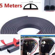 5 METER B Shape Type Moulding Trim Rubber Strip Car Door Edge Seal Weather-strip