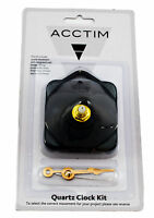 Acctim Clock Movement Kit Choice of 3 stem lengths model No.79403, 79413, 79423,