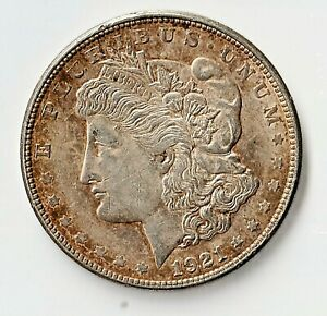 MORGAN SILVER DOLLAR 1921-D Preservation XF/AU $9.99 Start