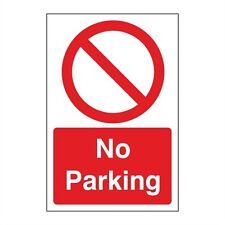 NO PARKING SIGNS  200 x 300 PVC PACK OF 5   (PRA-04F-R/P)