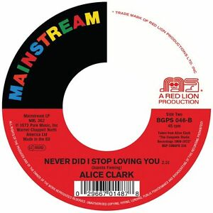 Alice Clark - Don't You Care / Never Did I Stop Loving You (BGPS 046)