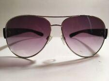 Elle Black/Silver Women's Aviator Sunglass Frame
