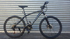 NEW TREND ALTITUDE  MTB 21 Speed Mountain Bike Shimano Gears - Grey/Black