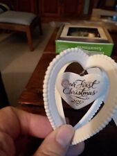 """Hallmark """"Our First Christmas Together"""" Ornament 2015"""