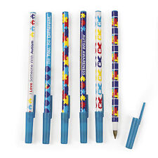 72 Autism Awareness PENS puzzle piece heart design April party favor FUNDRAISER