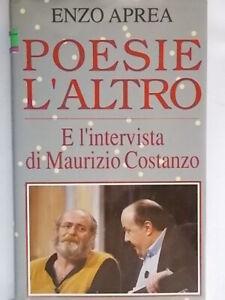 Poesie l'altro e l'intervista di Maurizio CostanzoAprea enzoeuroclub poesia 57