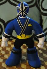 Mighty Morphin Power Rangers Samurai Kevin Blue Doll Vinyl Head Arms Jointed 12""