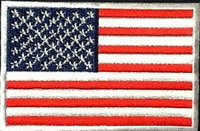 America Flag USA American Embroider Iron On Shirt Backpack Rucksack Patch Badge