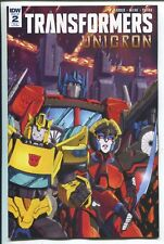 TRANSFORMERS: UNICRON #2 CASEY W. COLLER INCENTIVE VARIANT COVER RI - 1/10