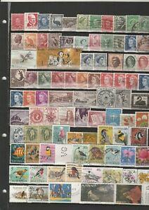 Briefmarkenlot  Australien  O  siehe Scan  / Lot  6691