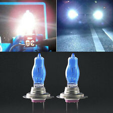 2Pcs H7 6000K Xenon Gas Halogen Headlight White Light Lamp Bulbs 100W 12V New