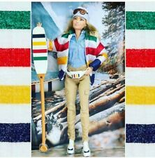 Barbie Hudson's Bay Company limited edition collector doll stripes HBC Canada