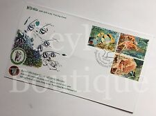 Sri Lanka Pigeon Island National Park Set of 2 Sri Lanka Stamp First Day Covers