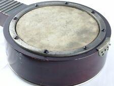 More details for antique banjo/mandolin/ukulele with engraved base plate for restoration