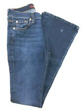 7 for all mankind Bootcut Dark Wash Mid Rise Jeans 27. 27x33