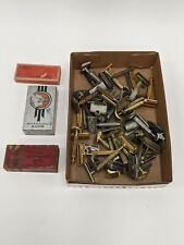 Large Box Lot of Vintage Safety Razors Gillette Christy Ever Ready Valet