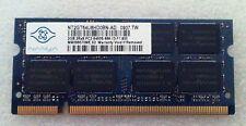 Dell Studio 1555 PP39L 2GB RAM Memory 2Rx8 PC2 DDR2 6400S 666 13 F1 800 Genuine