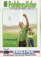 BL 93/94  Borussia Mönchengladbach - SG Wattenscheid 09