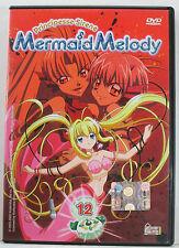 Principesse Sirene : Mermaid Melody *  volume 12 *  DVD BUONO STATO