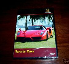 SPORTS CARS Car Ferrari Porche Auto Sport German Italy History Channel DVD NEW