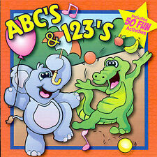 ABC's & 123's Music CD by