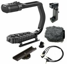 Sevenoak MicRig Universal Video Grip Handle with Integrated Stereo Microphone