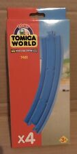 TOMY Train Trackmaster Tomica World - 7481 Curve Rail BOXED *NEW* 4 tracks