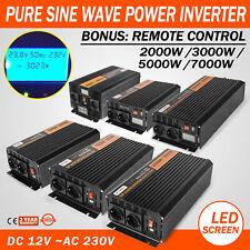 Inverter Onda Sinusoidale Pura 1000W 1500W 2500W 3500W Convertitore 12 220 230V