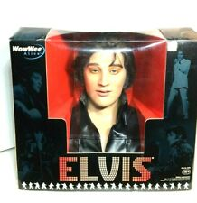 WowWee Elvis Alive Talking and Singing Bust - Excellent Condition ~ In Box!