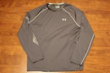 MENS UNDER ARMOUR HOCKEY GRIPPY LONG SLEEVE TEE GRAPHITE 1239029-040 SIZE 3XL