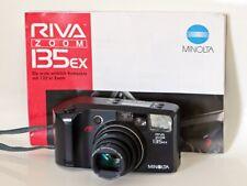 Minolta Riva Zoom 135ex AF aus 90-er aus Sammlung mit Anleitung  Kleinbildkamera
