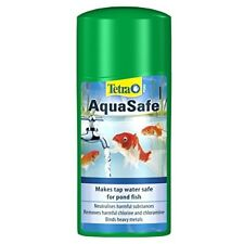 Tetra Pond AquaSafe, Makes Tap Water Safe for Pond Fish, 500 ml