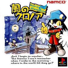Kaze no Klonoa: Door To Phantomile PS1 Playstation 1 NTSC-J JPN JAP Jump 'n' Run
