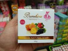 3 X  Bumebime Soap Savon White Bright Thai Very Fast Double Body Skin Whitening