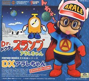 New ArtStorm EX Gokin Dr.Slump DX Arale-chan Suppaman Suits ver Diecast