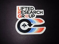 LRG Lifted Research Group Winter 2015 2 STICKER skate skateboards helmets decal