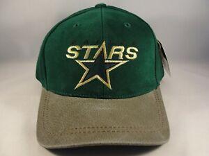 Dallas Stars NHL Vintage Snapback Hat Cap American Needle Green Tan
