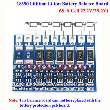 18650 Li-ion Lithium Battery Charger Module Balance Board 6S 6 Cell 22.2V 25.2V