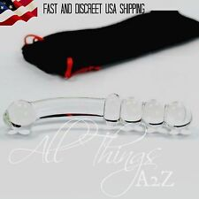 Glass-Dildo-G-Spot-Waterproof-Non-Multispeed-Vibrator-Female-Adult-Sex-Toy