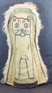 Antique Carnival Game Cat Knockdown Punk, Sideshow Target