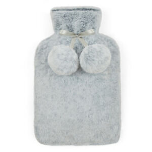 Luxury Hot Water Bottle with Extra Soft Faux Fur Plush Cover Premium quality