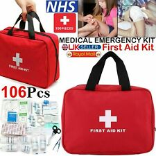 H-line 108 Piece Travel First Aid Kit
