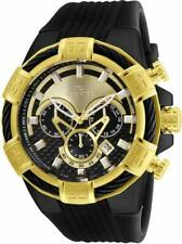 Invicta Bolt 24699 Men's Round Carbon Analog Chronograph Date Silicone Watch