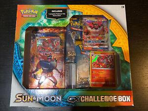 Pokemon Sun & Moon Incineroar GX Challenge Box (Factory Sealed)