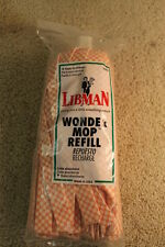 GENUINE  LIBMAN  WONDER MOP REFILL #02001**NEW IN FACTORY SEALED PKG. MADE N USA