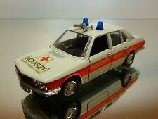 SCHUCO BMW 5 SERIES E28 - NOTARTZT AMBULANCE - WHITE 1:43 - VERY GOOD